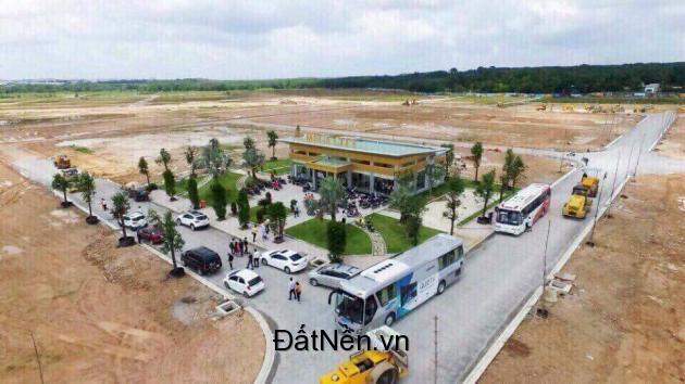 Bán đất nền dự án Mega City , gần chợ Bến Cát , mặt tiền đường Hùng Vương gần Quốc lộ 13