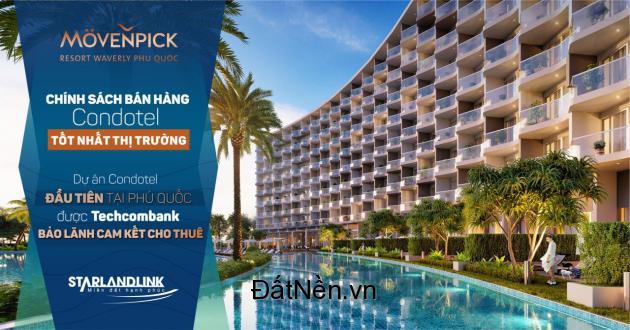 600 triệu sở hữu ngay căn condotel dự án MOVENPICK resort tại phú quốc,siêu LN 10%/năm