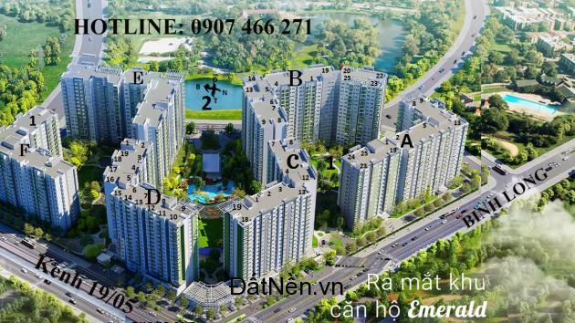 Emerald Celadon city: Giá từ 1.7 tỉ - Đang Nhận giữ chỗ block F & Mở bán block D & ABCD ngày 17/12