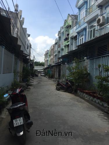 Bán gấp nhà sổ riêng vay ngân hàng hẻm 1288 Lê Văn Lương đường nhựa 6m