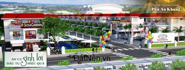 Lô biệt thự vườn 220m2 nằm trong KĐT Ven Sông, Ngay trung tâm Tp. Chỉ 1,2 tỷ