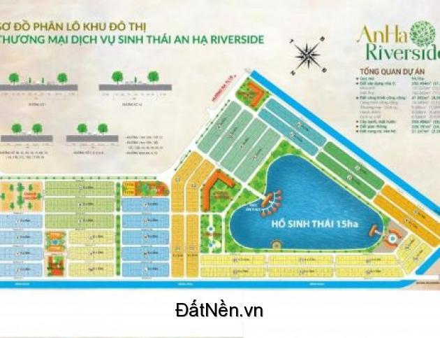 Đất nền dự án Tân Đô - Eco Village, sổ đỏ sang tên trong ngày, bán đúng giá gốc