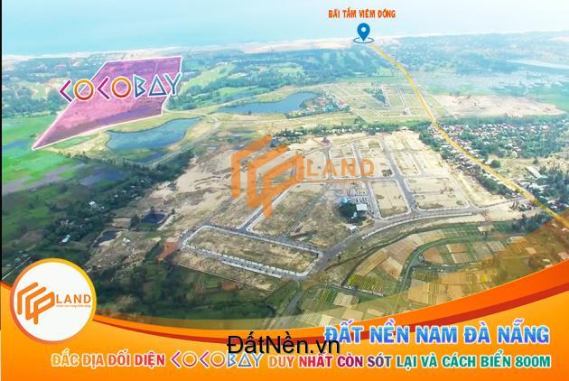 cần bán 2 lô đất vi trí đẹp  dự án GOLD ELEVEN sau COCOBAY phù hợp đầu tư hay nhà ở