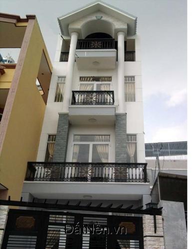 Bán nhà đẹp như biệt thự hẻm Tân Hòa Đông,DT 5.2x19m,đúc 4 tấm