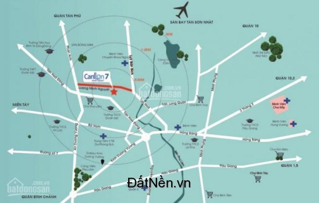 1.TTC Land - Sacomreal chính thức giữ chổ căn hộ CARILLON 7, Tân Phú, giá 1,4 tỷ, cam kết lợi nhuận 10% cho 150 suất đầu tiên.
