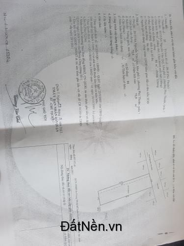 Bán nhà hẻm 88/55/8A Nguyễn Văn Quỳ, Quận 7; 5x18,5m; thu nhập 10tr/tháng; SH; 3,65 tỷ
