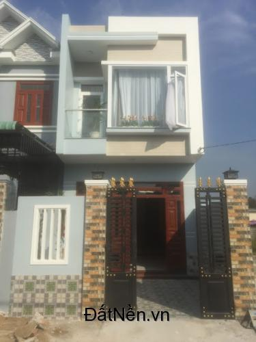 Bán nhà 1 trệt 1 lầu 77m2 gấp sát Đường võ Thị Sáu phường Đồng Hòa thị Dĩ An