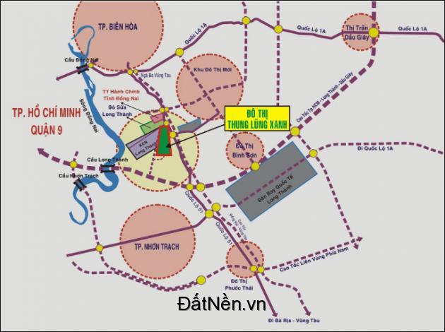 Bán đất dự án Thung Lũng xanh, chỉ 8tr/m2 rẻ nhất thị trường