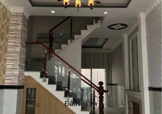 Nhà mới 1 sẹc Lê Văn Quới, 4mx12m, đúc thật 1 lầu gần ngã tư bốn xã
