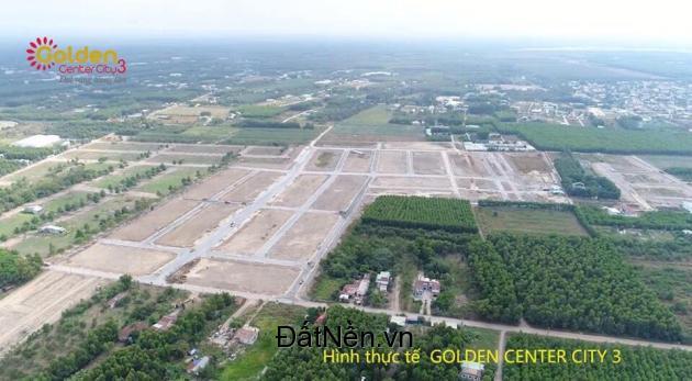 Mở bán dự án Golden Center City 3 - đất nền kết nối sân bay Long Thành