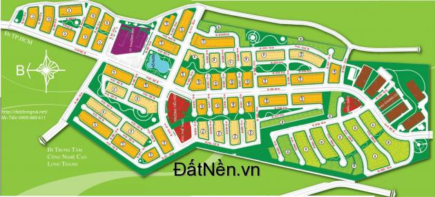 Bán 300m2 đất xã An Phước gần Quốc lộ 51 giá chỉ  6 tr/m2