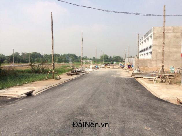 Bán đất chỉ 699 triệu/nền 2 mặt tiền, đối diện KCN Cầu Tràm, sổ hồng ngay