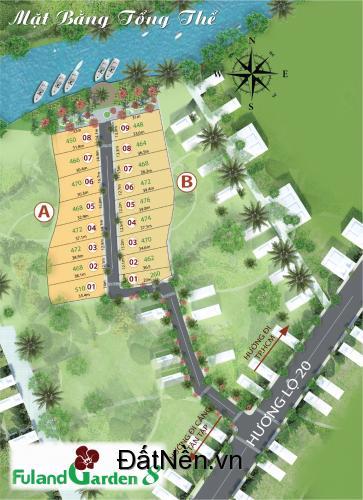 Siêu phẩm đất nền biệt thự view sông chỉ từ 1,9tr/m2 cách bến xe miền tây mới 2km lh:0934975328