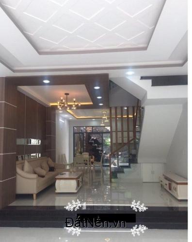 Nhà mới kiểu biệt thự 4 tấm 1 sẹc Hương Lộ 2, 4x16m, Q.Bình Tân