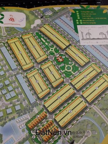 Đất nền dự án Bien Hoa Golden Town, xã Tam Phước, gần sân bay Long Thành, chỉ 6.8tr/m2
