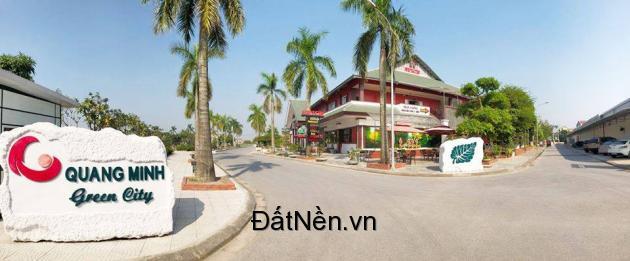 Bán đất nên khu THỊNH VƯỢNG Quang Minh GreenCity giá 1,35Tỷ giá tốt nhất lô đẹp nhất LH: 0899279223