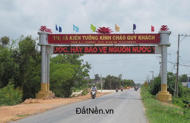 Đất nền KDC sân bay Kiến Tường, giá chỉ 600tr/100m2, LH 0901 787 674