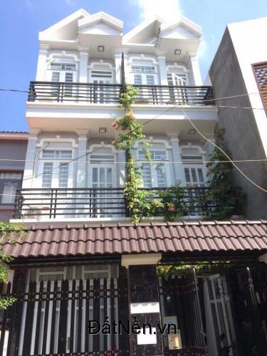 Bán nhà sổ hồng riêng,3 tầng(3x9m),giá 1,3 tỷ,Huỳnh Tấn Phát,Nhà Bè