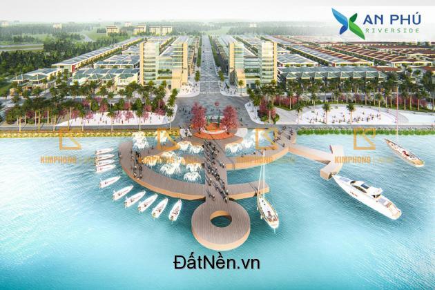 Đất dự án An phú Riverside, cuối đường Võ Như Hưng, giá chỉ 6tr/m2