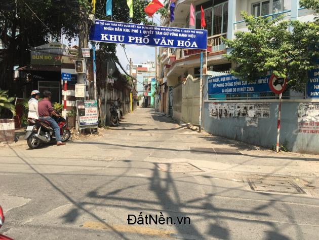 Bán nhà phố 4 tấm hẻm xe hơi đường Thích Quảng Đức, Quận Phú Nhuận