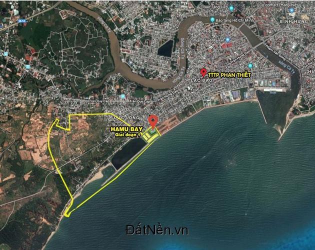 Dự án Hamubay Phan Thiết - chỉ còn 2 lô ngoại giao duy nhất