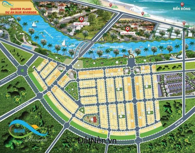 Đất nền biệt thự đường 27M khu đô thị Blue Riverside GĐ 2