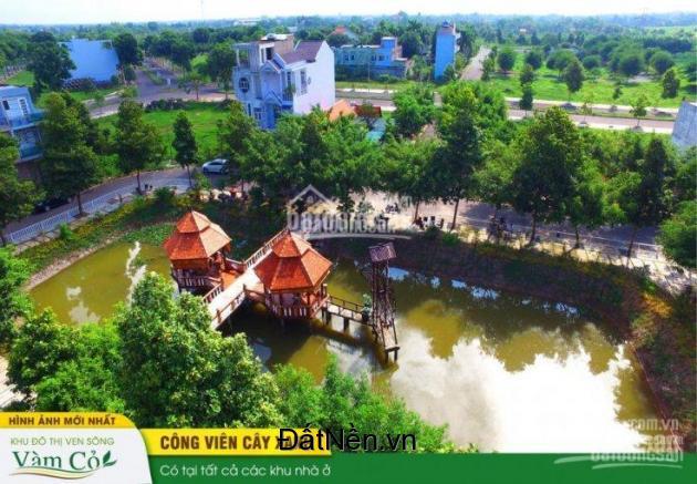 Bán đất nền Khu biệt thư Ven sông trung tâm Tp  - giá 8tr/m2