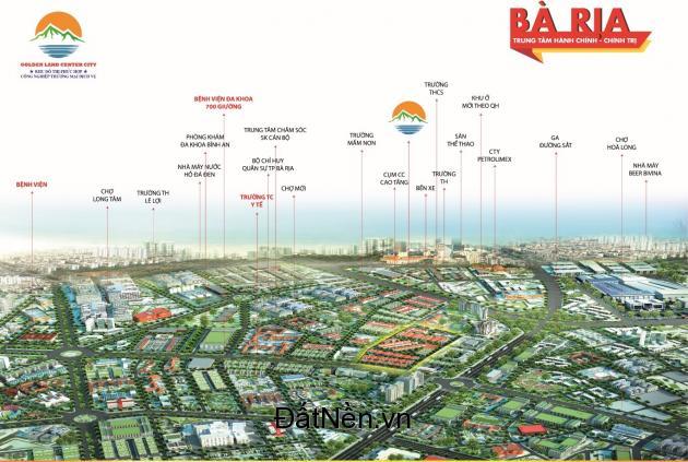 Đất nền Dự án Khu Đô Thị Golden Land Center City