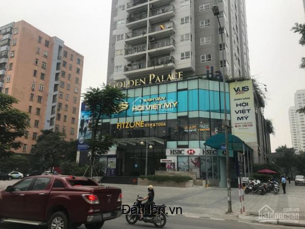 Cho thuê  văn phòng cao cấp tại tòa nhà Golden Palace Lê Văn Lương, Cầu Giấy,  Hà Nội