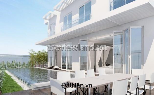 Bán Căn hộ cao cấp Sky Villa tòa Brilliant Đảo Kim Cương 661m2 2 tầng 5PN view sông nội thất đầy đủ tiện nghi