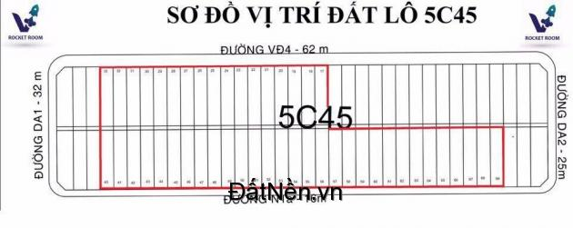 BLOCK 5C45 MỸ PHƯỚC 4 LIỀN KỀ ĐH VIỆT ĐỨC CK 50 CHỈ VÀNG SJC