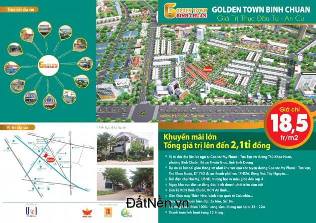 dự án siêu hót golden town bình chuẩn giá đầu tư