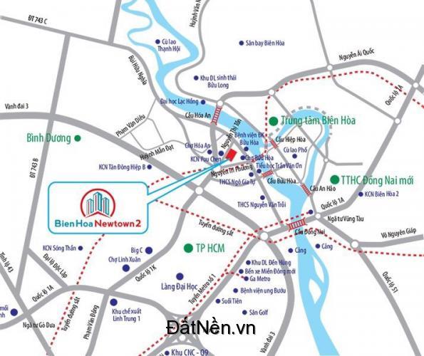 Đất nền Biên Hòa, ngay công ty Pouchen giá đầu tư.