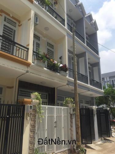 Nhà mới,3 tầng ,sân thượng,Hẻm 2266 Huỳnh Tấn Phát, Phú Xuân, Nhà Bè.