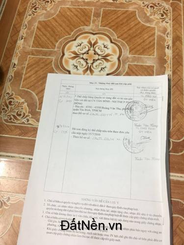 Cần bán gấp nhà chính chủ hẻm 861 Trần Xuân Soạn, Quận 7