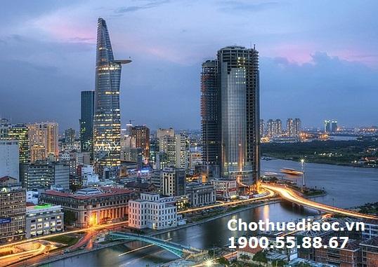 Cho thuê Office – tel The Gold View, 92m, 25  triệu/tháng