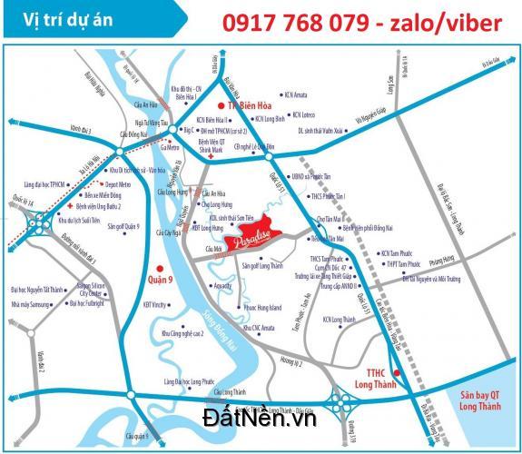 Paradise Riverside Phước Tân chủ đầu tư Kim Oanh , giá chỉ 750 triệu/nền