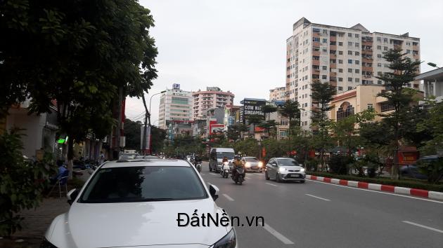Bán nhà mặt phố Trần Thái Tông Cầu Giấy 50m 6 tầng thang máy có vỉa hè 3m.