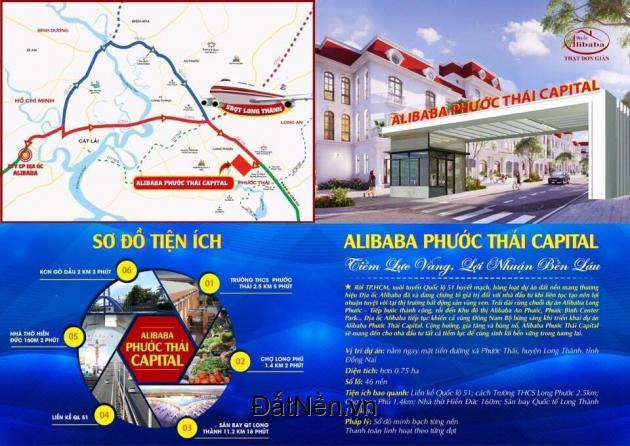 Đất nền giá rẻ- Dự án Phuốc Thái Capital