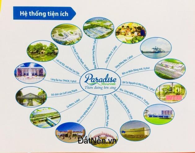Paradise Riverside, ngay trung tâm Biên Hòa giá rẻ