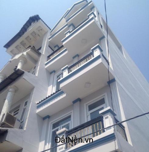Bán nhà mới xây 4 tấm 4x13m, 1/ Lê Văn Quới gần ngã tư bốn xã