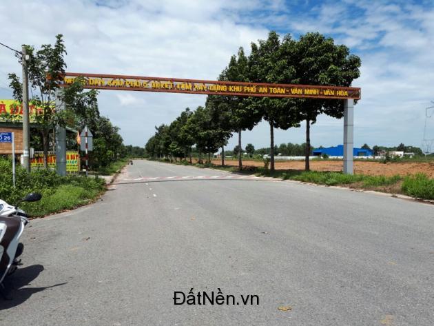 Bán đất kinh doanh mặt tiền đường 12m Định Hòa, Thủ Dầu Một, Bình Dương đối diện chung cư cao tầng