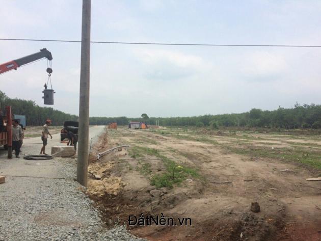 Bán đất nền giá rẻ khu dân cư Chơn Thành Bình Phước. LH : 0963097087