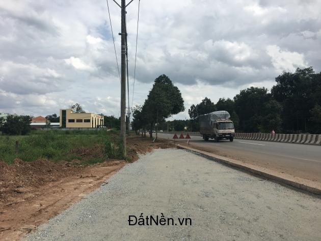 Bán đất nền 2 mặt tiền Quốc Lộ 13 huyện Bàu Bàng tỉnh Bình Dương