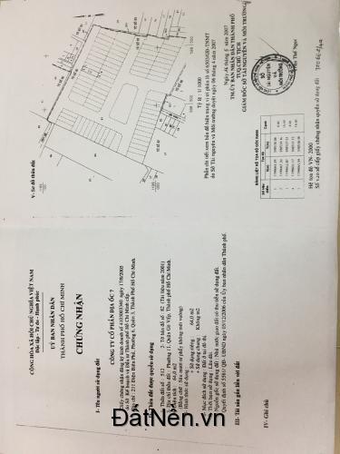 Bán đất đường 21, P.8, Quận Gò Vấp, DT 4x16m, giá 4,2 tỷ còn TL