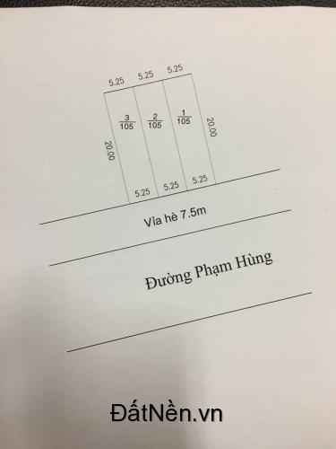 Đất TĐc Hòa Lợi, Hòa Phú, Thành Phố Mới , Bình Dương Đường Phạm Hùng Đầu  Tư siêu Lợi nhuận Trên 10% trong 1 Tháng