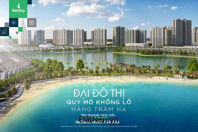 VinCity Ocean Park đại đô thị đẳng cấp Singapore của VinGroup - Cơ hội đầu tư có 1-0-2!