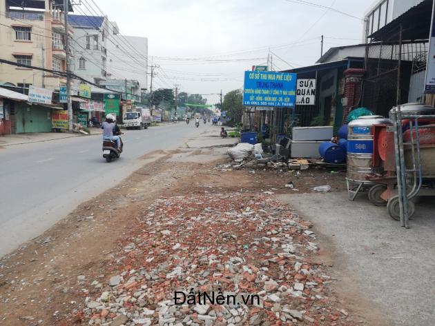 Chính chủ bán lô đất mặt tiền đường Hoàng Hữu Nam, SHR, Xây dựng tự do