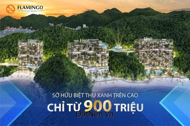 Nhận ngay lợi nhuận 30% giá trị đầu tư vào Flamingo Cát Bà, LH 0911805335