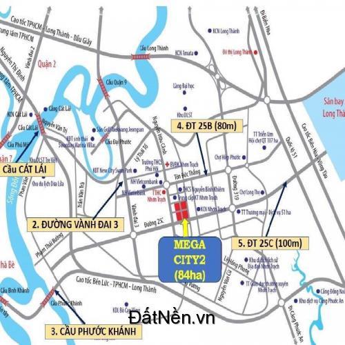 Khu đô thị Thương mại Dịch vụ Mega City 2